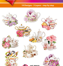Hearty Crafts Easy 3D-Toppers Coffee & Tea