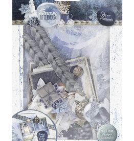 Studiolight Jeu de papier découpé Snowy Afternoon n ° 655
