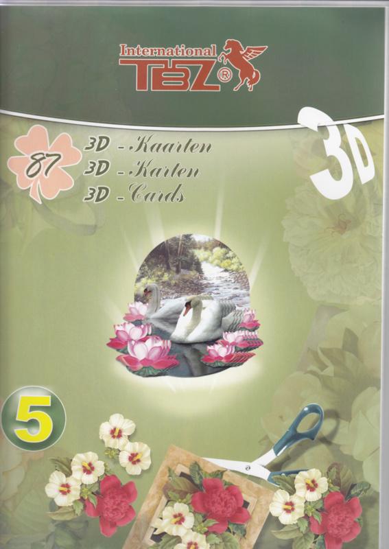 TBZ TBZ 3D card book no. 5
