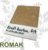 Kraftkarton A4
