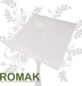 Hobbycentraal Cardboard 30.5 x 30.5 cm white 25 sheets