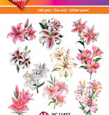 Hearty Crafts Easy 3D-Toppers Lilies