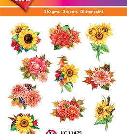 Hearty Crafts Easy 3D-Toppers Flowers