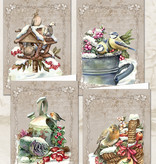 Creatief Art Christmas Animals 04