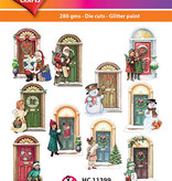 Hearty Crafts Easy 3D-Toppers Winter Doors