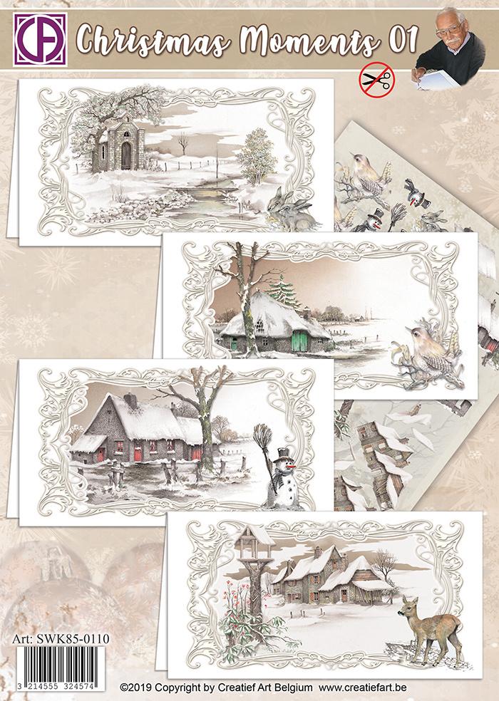 Creatief Art Weihnachtsmomente 01