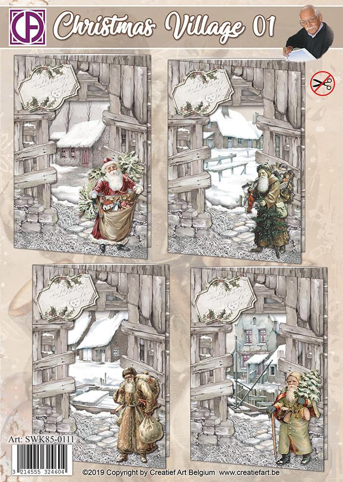 Creatief Art Christmas Village 01