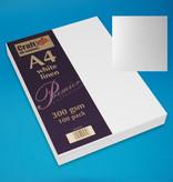 Craft UK Limited 100 x A4 carte de lin blanc