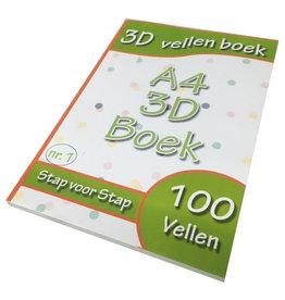 Livre de feuilles 3D numéro 1