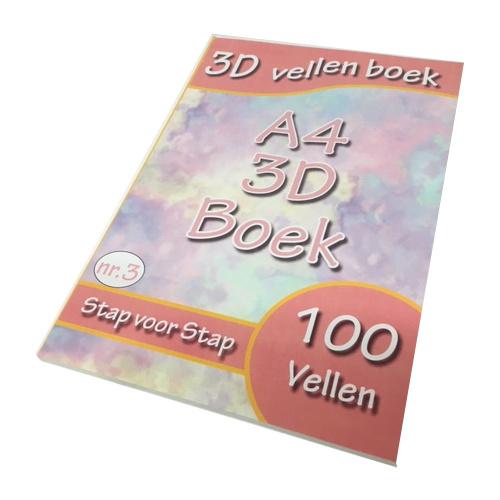 3D sheet book numéro 3