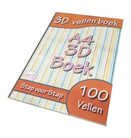 3D Bogen Buch Nummer 5