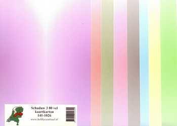 Hobbycentraal Shadow 3 80 sheets of card stock 141-1026