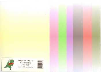 Hobbycentraal Shadow 2 80 feuilles de papier cartonné 141-1025