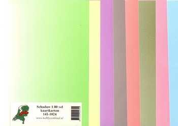Hobbycentraal Schaduw 1 80 vel kaartkarton 141-1024
