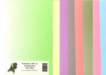 Hobbycentraal Shadow 1 80 sheets of card stock 141-1024