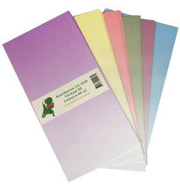 Hobbycentraal Karton 141-1028 quadratisch DL 6 Farben 60 Blatt