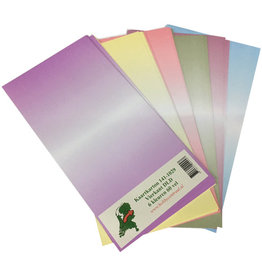 Hobbycentraal Cardboard 141-1029 square DLD 6 colors 60 sheets