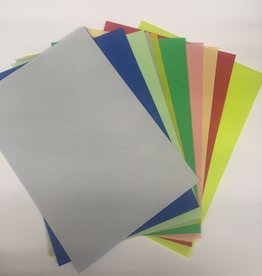 Parchment 120 grams 20 sheets of various colors