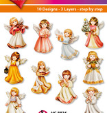 Hearty Crafts Easy 3D-Toppers - Angels
