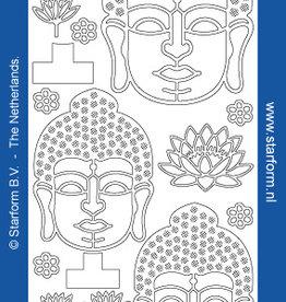 Starform Sticker or Buda