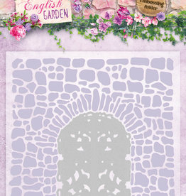 Studiolight Embossing Folder With Die Cut, English Garden nr.03