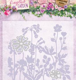 Studiolight Embossing Folder With Die Cut, English Garden nr.04