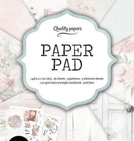 Studiolight Paper Pad A5, 36 Sheets, Classic Pastel nr.131