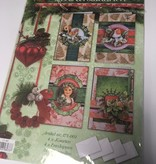 3D clipping package Christmas cards 171-001