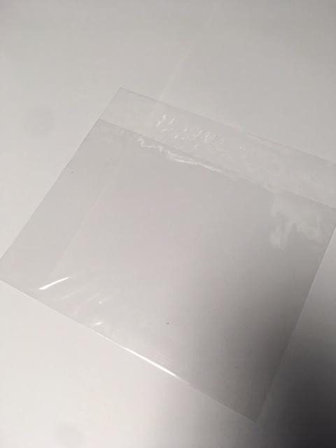 Sacs 100 pièces sans bande adhésive 17 x 12,5 + 3 cm