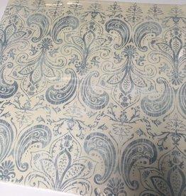Einklebebuchblattdekor 30,5 x 30,5 cm 25 Blätter