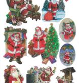 Ideen mit Herz Christmas glossy sticker