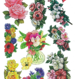 Ideen mit Herz Gloss sticker flowers