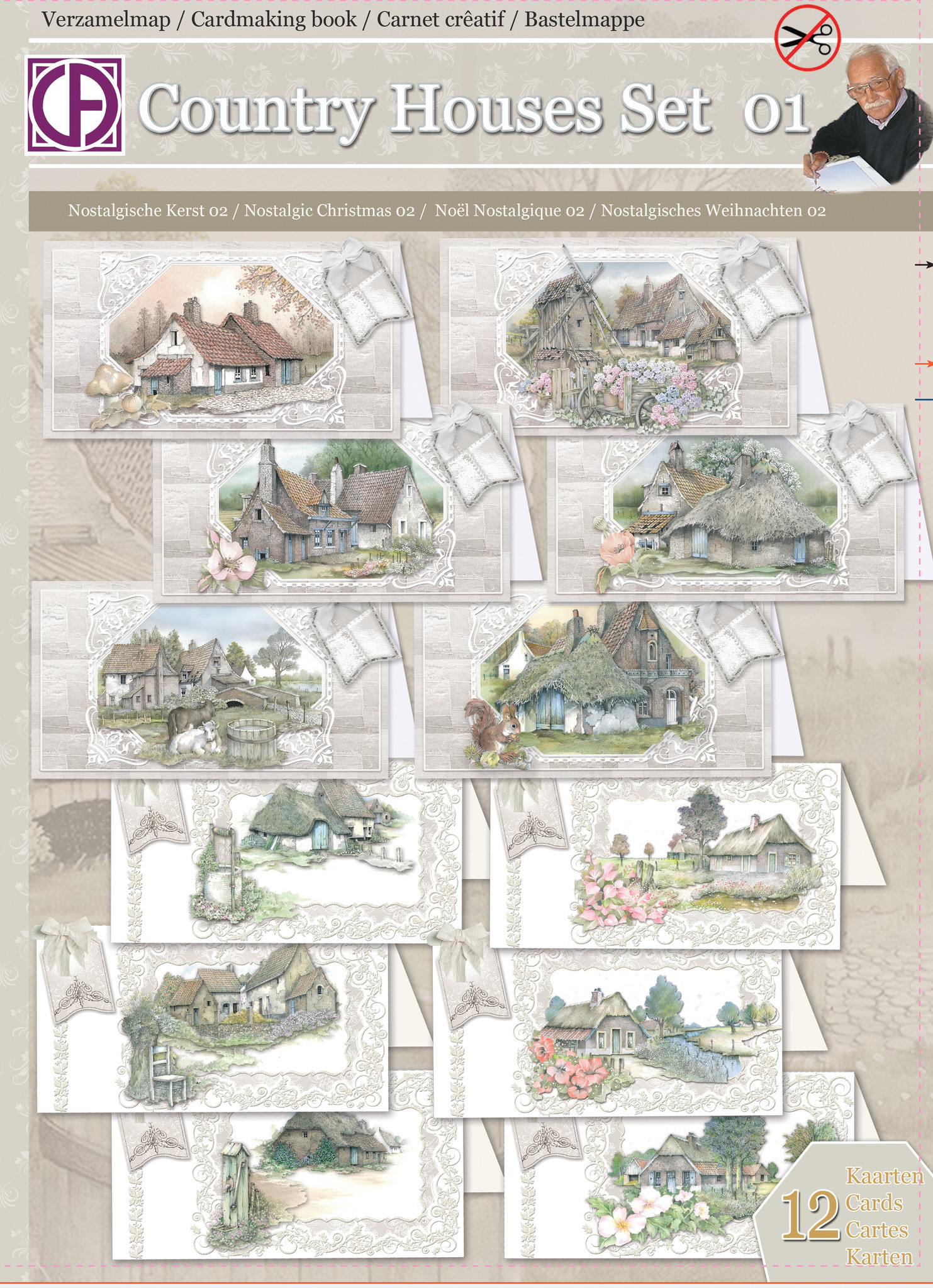 Creatief Art Country Houses Set 01