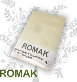 Romak Carton lin nacre