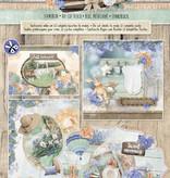 Studiolight Stansblok A4, Content 12 Sheets Die Cut, Summer Breeze nr.92