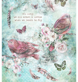 Studiolight Rice Paper A4 Sheet, Jenine's Mindful Art 3.0 nr.18