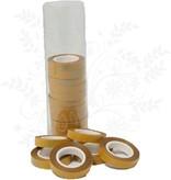 Hobbycentraal 28 x 16 = 448 rollen dubbelzijdig tape van 9 mm breed (5 meter rol)