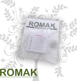 Romak Calendrier romak 4x4 cm FRANCAIS