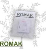 Romak Romak calendar 4x4 cm GERMAN