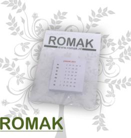 Romak Calendrier romak 4x4 cm ALLEMAND
