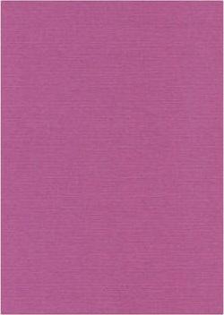 Linen cardboard fuchsia purple