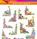 Hearty Crafts Easy 3D-Toppers Flower Corners