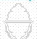 Studiolight SL Cutting & Embossing Die Card Shape Essentials 202x132mm nr.301
