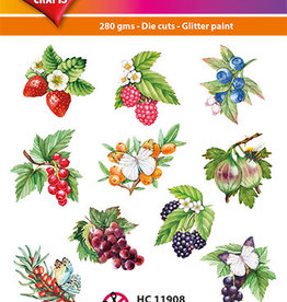 Hearty Crafts Easy 3D-Toppers Berries
