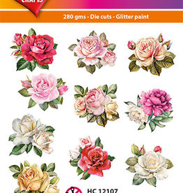 Hearty Crafts Easy 3D-Toppers Vintage Roses