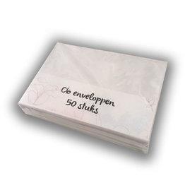 Envelopes C6 white