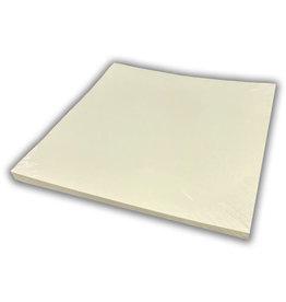 Linen cardboard 30.5 x 30.5 cm cream