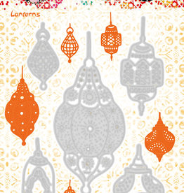Studiolight Art By Marlene Cutting & Embossing Die Artsy Arabia 97x147mm nr.11