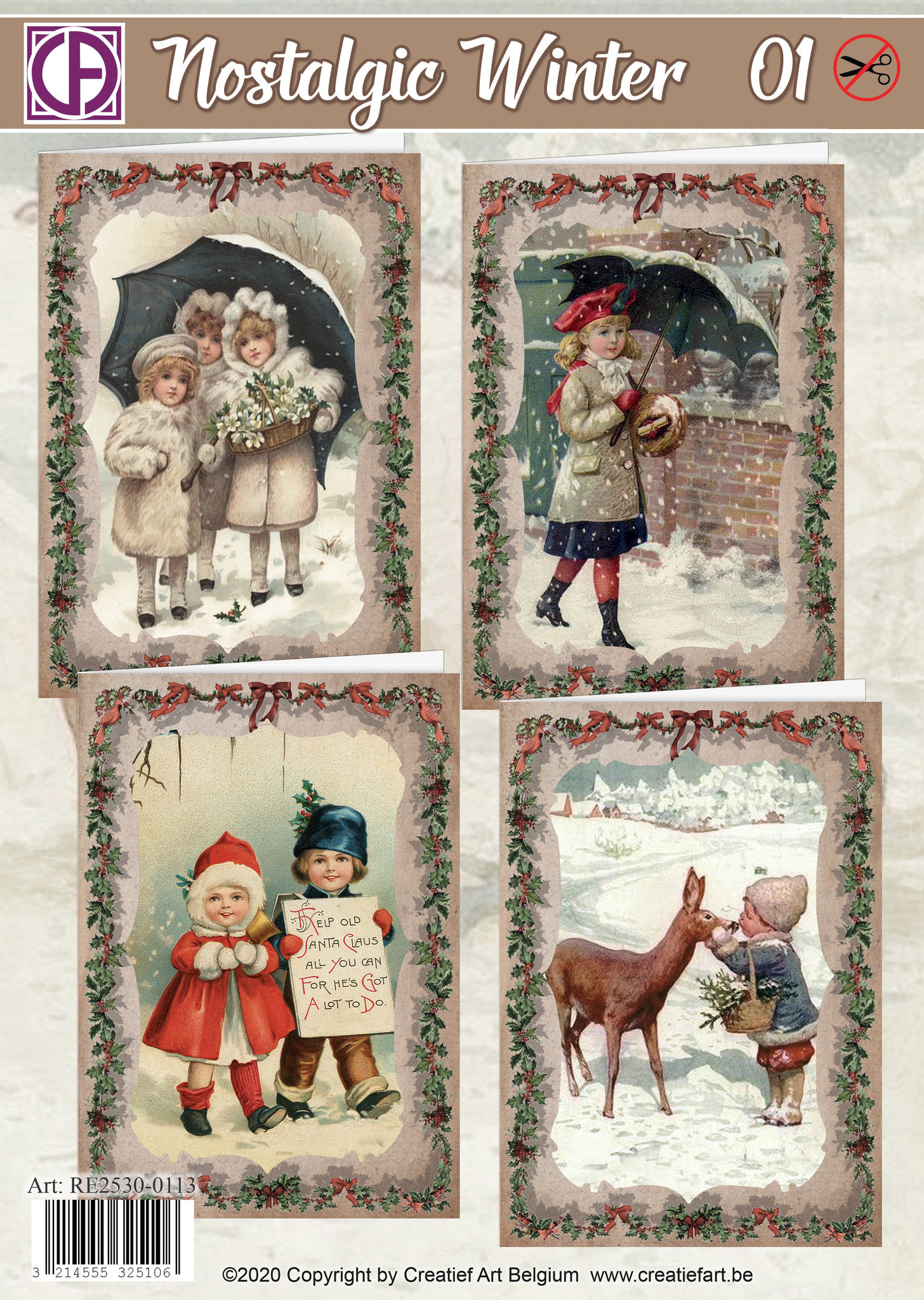 Creatief Art Nostalgic winter 01