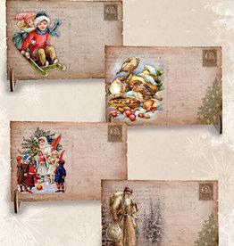 Creatief Art Wooden Postcards 01